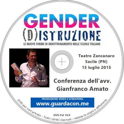 Conferenza gender di Gianfranco Amato a Sacile