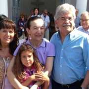 Senator Razzi to Medjugorje with Vicka and Ivan
