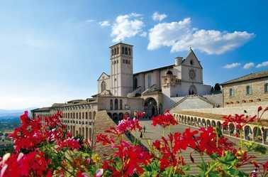 Assisi: basilica di San Francesco